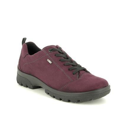 Ara Walking Shoes - Wine - 69308/66 SAAS FEE TEX
