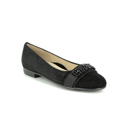 Ara Pumps - Black nubuck - 31320/01 SARDINIA HIGH