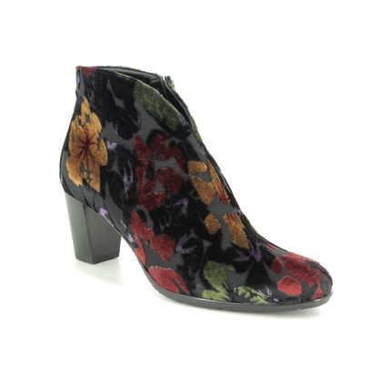 Ara Boots - Ankle - Floral print - 43408/63 TOULOUSE