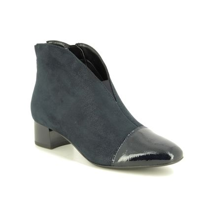 Ara Ankle Boots - Navy patent - 16605/76 VICENZA