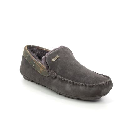 Barbour Slippers & Mules - Brown Suede - MSL0001/BR51 MONTY