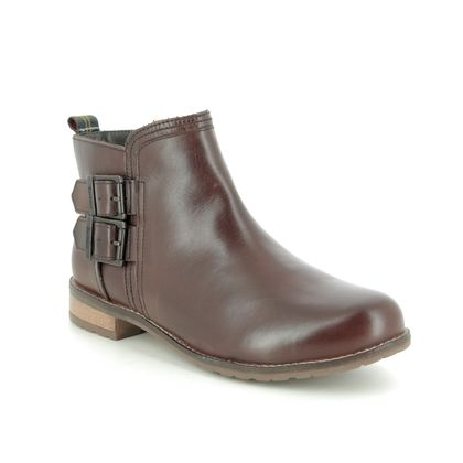 Barbour Chelsea Boots - Brown leather - LFO0212/RE91 SARAH