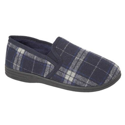 Begg Shoes Slippers & Mules - Navy - 8686/70 FIFE