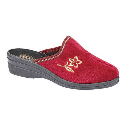 Begg Shoes Slippers & Mules - Red - 8817/81 HELEN