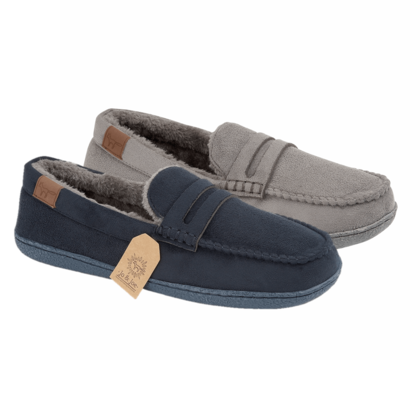 Begg Shoes Slippers & Mules - Navy - 8677/70 NEW HAMPSHIRE