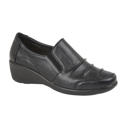 Begg Exclusive Comfort Slip On Shoes - Black - 0119/30 BEATRICE