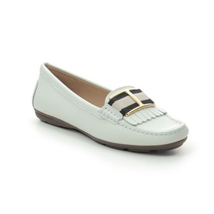 Begg Exclusive Loafers and Moccasins - WHITE LEATHER - 06368/66 CANNES