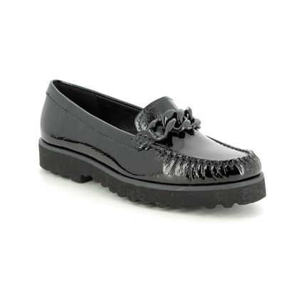 Begg Shoes Loafers and Moccasins - Black patent - 16659/30 CORVETTE
