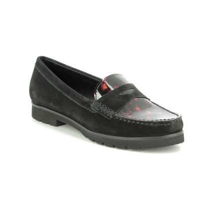 Begg Shoes Loafers and Moccasins - Black patent - 29102/30 CORVETTOISE