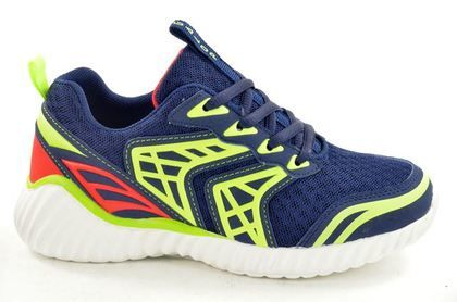Begg Exclusive Boys Trainers - Navy - L21584/45 GALUS
