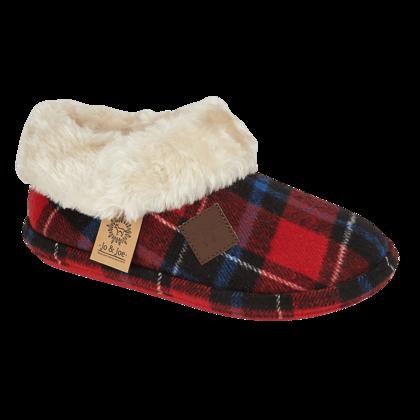 Begg Shoes Slippers & Mules - Red multi - 8763/ GLENROYAL