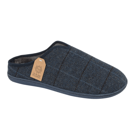 Begg Shoes Slippers & Mules - Navy - 0501/ HAMISH