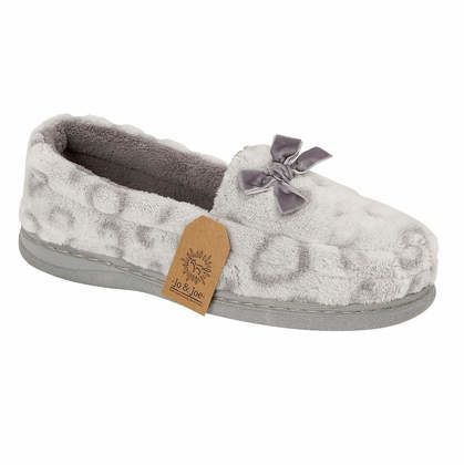 Begg Shoes Slippers & Mules - Grey - 0509/00 MABEL