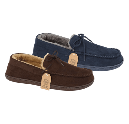 Begg Shoes Slippers & Mules - Navy - 0502/ MALCOLM