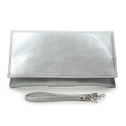Begg Exclusive Occasion Handbags - Silver - 0047/60 MEGAN POSH