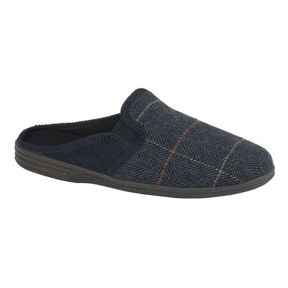 Begg Shoes Slippers & Mules - Navy - 0599/70 NATHAN
