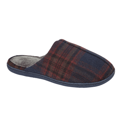 Begg Shoes Slippers & Mules - Navy - 0511/ OBAN