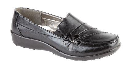 Begg Exclusive Comfort Slip On Shoes - Black - 0111/30 RHODES