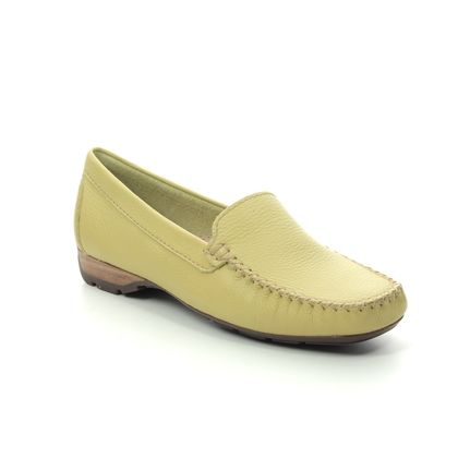 Begg Shoes Loafers and Moccasins - Yellow - 40539/08 SUNDAY WIDE FIT