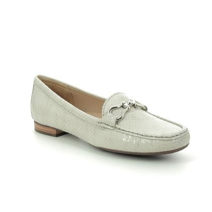 Begg Exclusive Loafers and Moccasins - Light Grey - 25911/00 SUNFLOWER 01