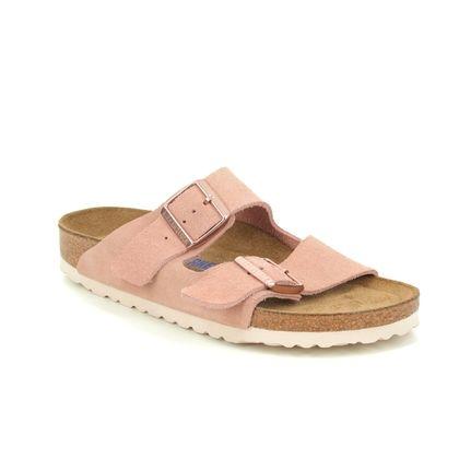 Birkenstock Slide Sandals - Pink suede - 1015892 ARIZONA LADIES