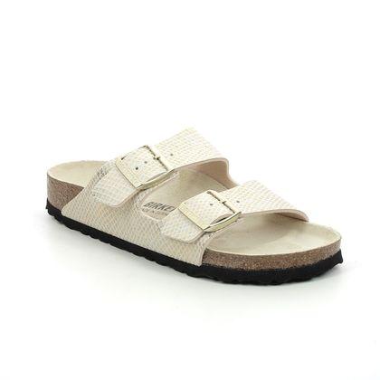 Birkenstock Slide Sandals - Beige - 1019374/55 ARIZONA LADIES