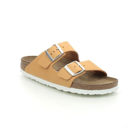Birkenstock Slide Sandals - Orange - 1018838/89 ARIZONA SFB