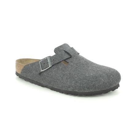 Birkenstock Slippers & Mules - Dark Grey - 160371/04 BOSTON