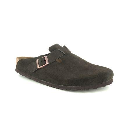 Birkenstock Slippers & Mules - Brown Suede - 660461/23 BOSTON