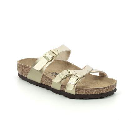Birkenstock Slide Sandals - Gold - 1018882/26 FRANCA