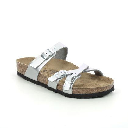 Birkenstock Slide Sandals - Silver - 1018884/99 FRANCA