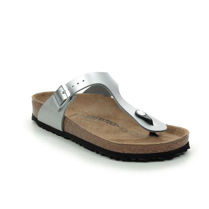 Birkenstock Toe Post Sandals - Silver - 0043851 GIZEH