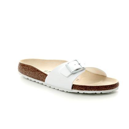 Birkenstock Slide Sandals - White - 0040733 MADRID