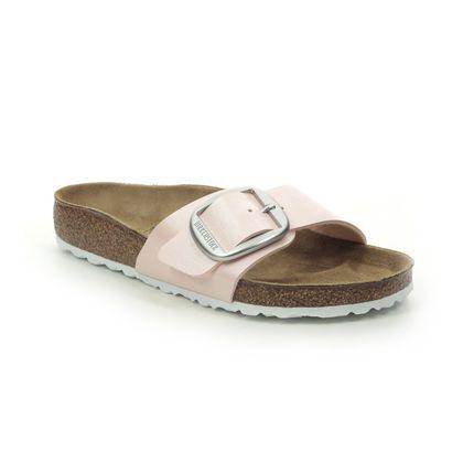 Birkenstock Slide Sandals - Pink - 1018768 MADRID BUCKLE