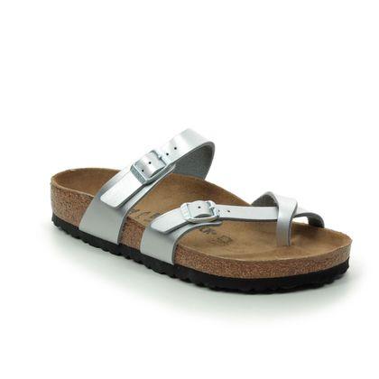 Birkenstock Toe Post Sandals - Silver - 0071081 MAYARI