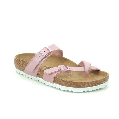 Birkenstock Toe Post Sandals - Pink - 1016008 MAYARI
