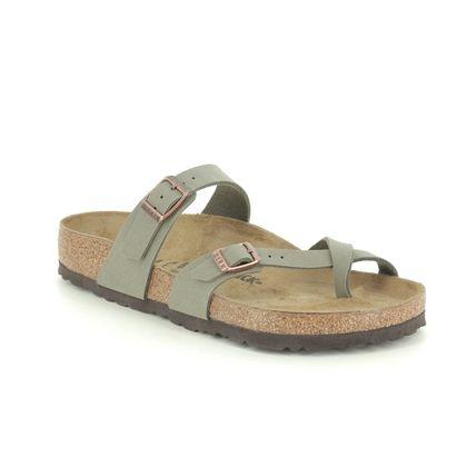 Birkenstock Toe Post Sandals - Stone - 0071071 MAYARI