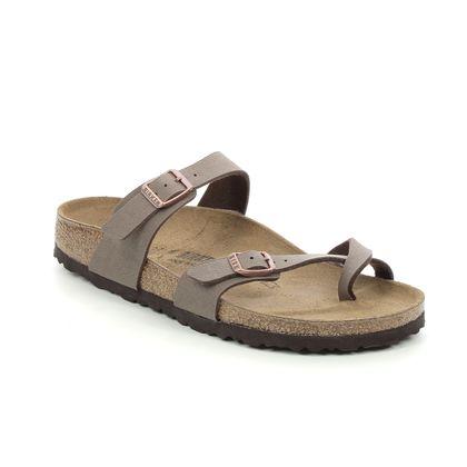 Birkenstock Toe Post Sandals - Brown - 0071063 MAYARI MOCCA