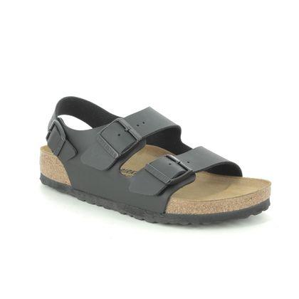 Birkenstock Slide Sandals - Black - 34793/30 MILANO LADIES