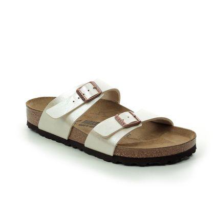 Birkenstock Slide Sandals - Oyster - 1016170 SYDNEY
