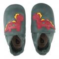 Bobux 1st Shoes & Prewalkers - Green - 1000/01218 DINOSAUR