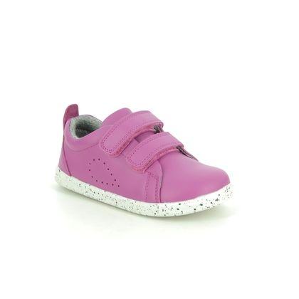 Bobux Girls Shoes - Hot Pink - 6337/22 GRASS COURT IWALK