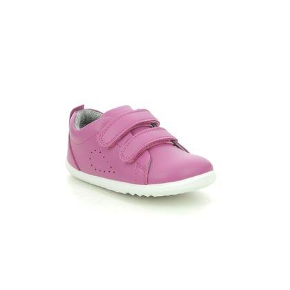 Bobux 1st Shoes & Prewalkers - Hot Pink - 7289/27 GRASS COURT STEP UP