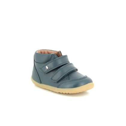 Bobux 1st Shoes & Prewalkers - Navy Leather - 0007/28106 TIMBER STEPUP