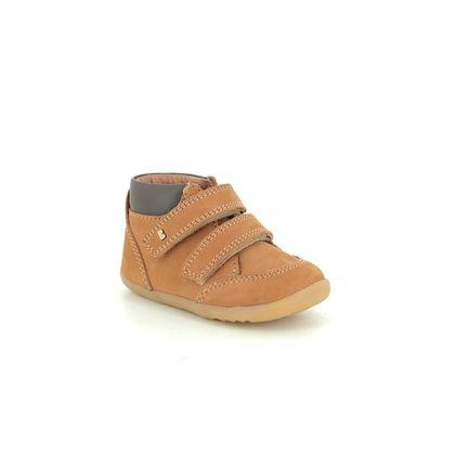 Bobux 1st Shoes & Prewalkers - Tan Nubuck - 0007/28109 TIMBER STEPUP