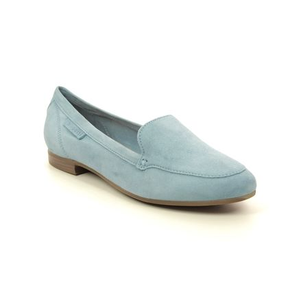 Bugatti Loafers and Moccasins - Blue Suede - 41191260/4200 ANAMICA