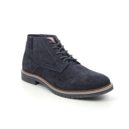 Bugatti Chukka Boots - Navy suede - 33183736/4100 CAJ