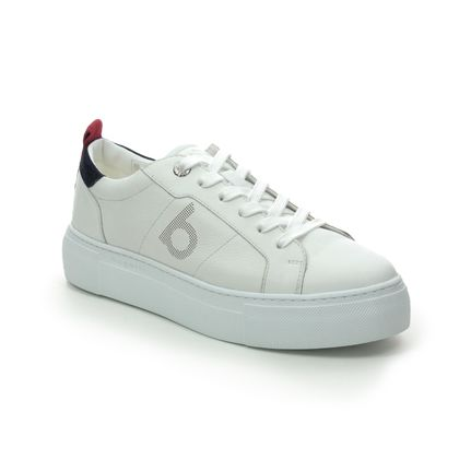 Bugatti Trainers - WHITE LEATHER - 41188301/1034 INFINITY