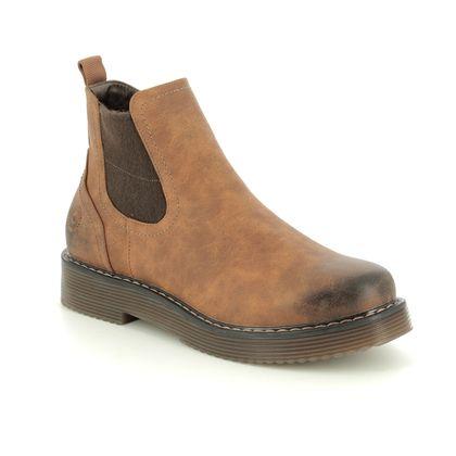 Bugatti Chelsea Boots - Brown - 4315493A/6300 NERIA CHELSEA