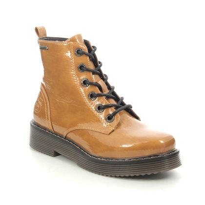 Bugatti Lace Up Boots - Yellow Patent - 43154932/5000 NERIA  MARTEN